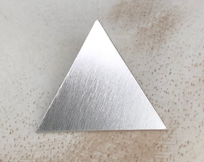 Stevie Nicks Style Pyramid Triangle Pendant ONLY - no chain - Bohemian Chic Pendants, Symbols and Egyptian Triangle Pyramid  Pendant,