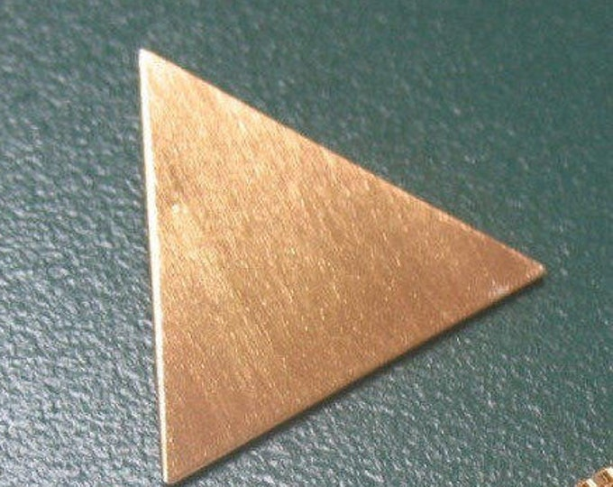 Stevie Nicks Inspired 24K gold-PLATED Triangle Pyramid Pendant, NO CHAIN, Stevie Nicks Pyramid Pendant without Chain, Pendant Only