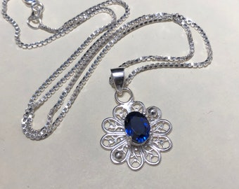 Filigree Gemstone Statement Necklace, Gifts For Her,  Celtic Jewelry Designs, Anniversary Gifts For Her, Filagree Gemstone Necklaces