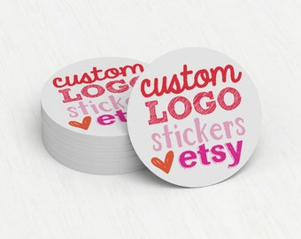 Custom Stickers  Custom Logo Stickers  Personalized Stickers  Product Labels  Adhesive Labels  Return Address Labels - YOUR LOGO or DESIGN