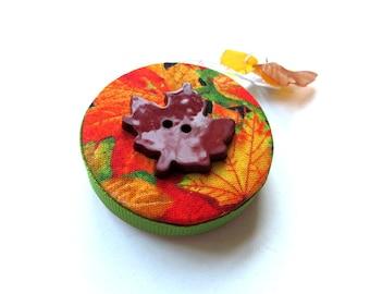 Retractable Tape Measure Autumn Leaves Small Measuring Tape