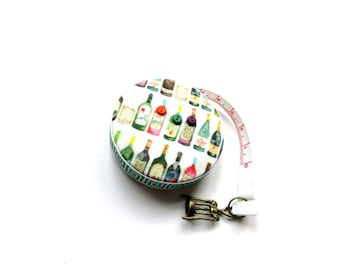 Measuring Tape Tiny Wine Bottles Small Retractable Tape Measure