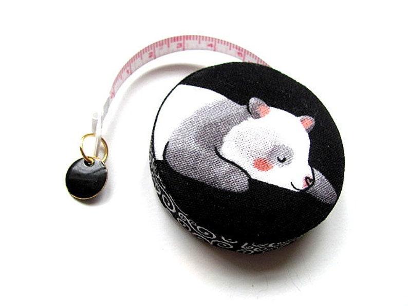 Tape Measure Pandas Retractable Pocket Tape Measure