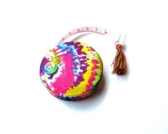 Measuring Tape Tie Dye Retractable Small Tape Measure