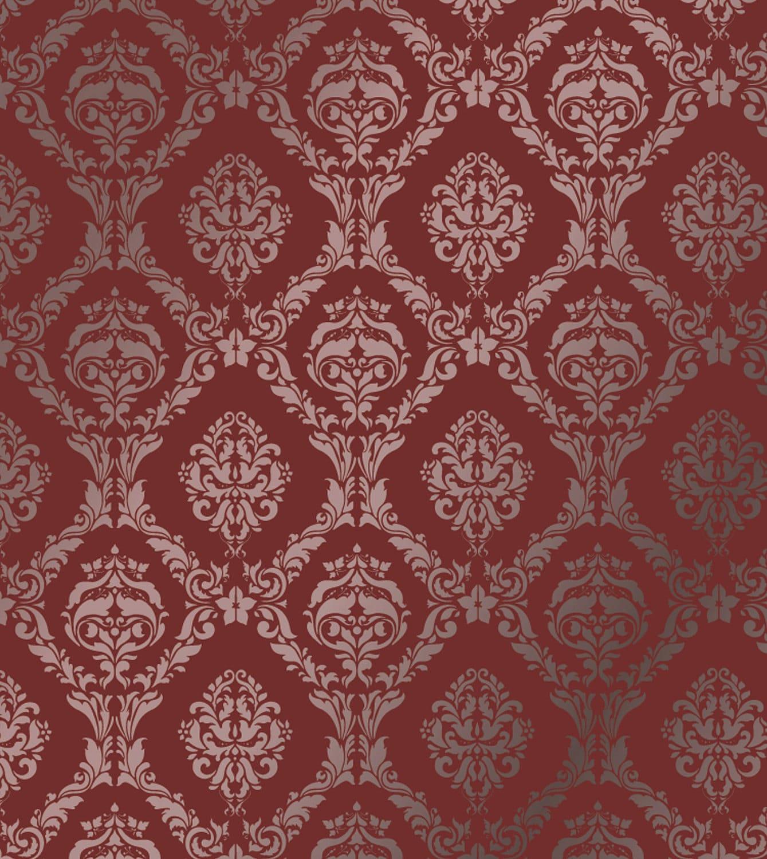 Pared grande plantilla damasco patrón MURAL imitación 1007 | Etsy