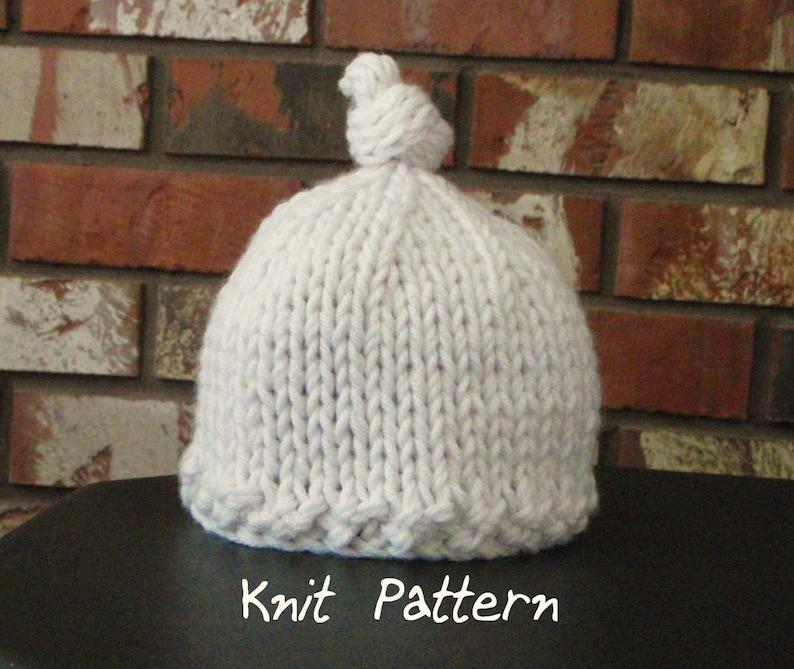 2 Patterns  Big Fluff and Knotty PDF patterns image 0