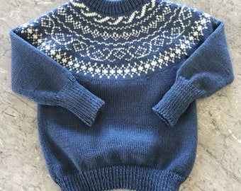 Yoke Sweater Jumper size 6 - 12 months ready to ship