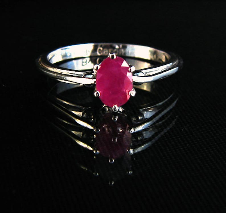 Forever Ruby  Ruby gemstone ring image 0