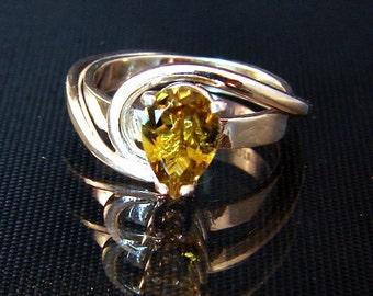Grace - Fancy Color Tourmaline Ring