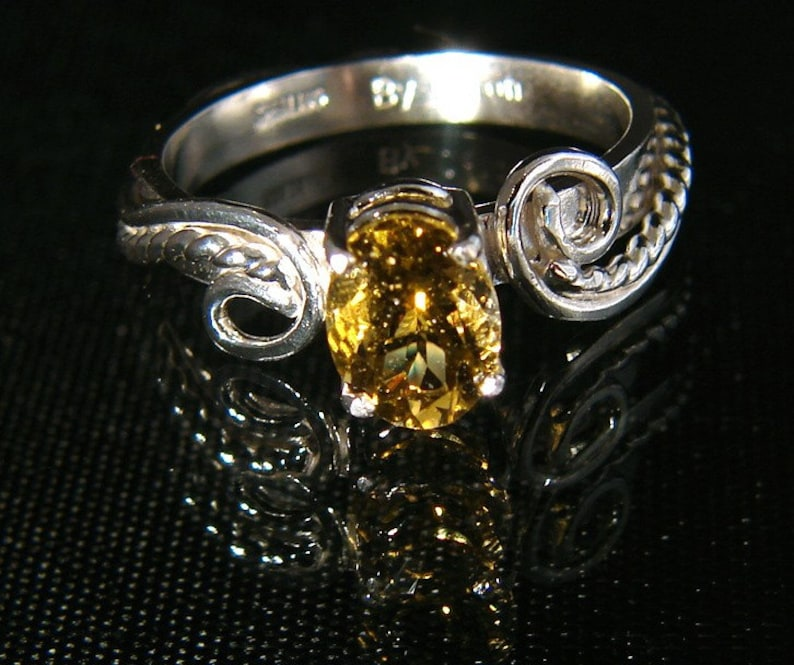 Yearning  Fancy Color Tourmaline ring image 0