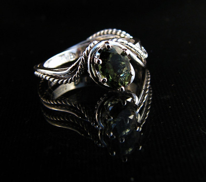 Waterscape  Tourmaline ring image 0