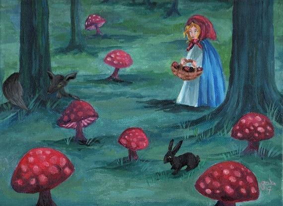 Forest Horror Fantasy Art