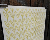Chartreuse Field Gift Wrap
