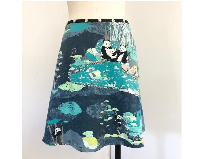 Panda Snap Skirt