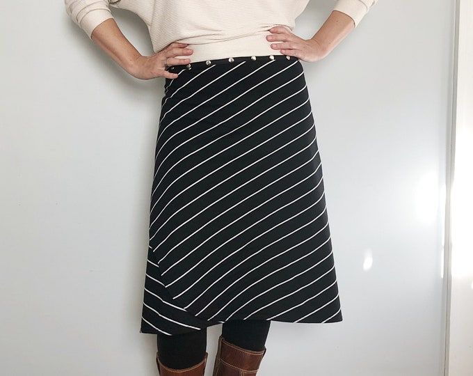 Striped Skirt, by Erin MacLeod