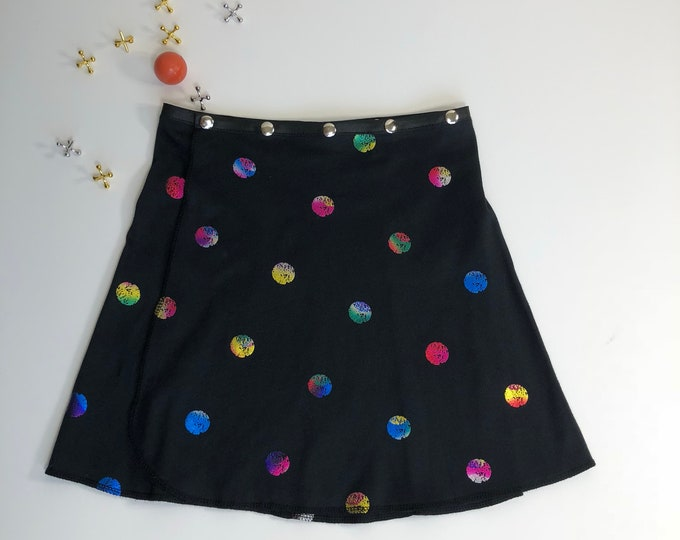 Girl Dance Snap Skirt, Erin MacLeod, adjustable