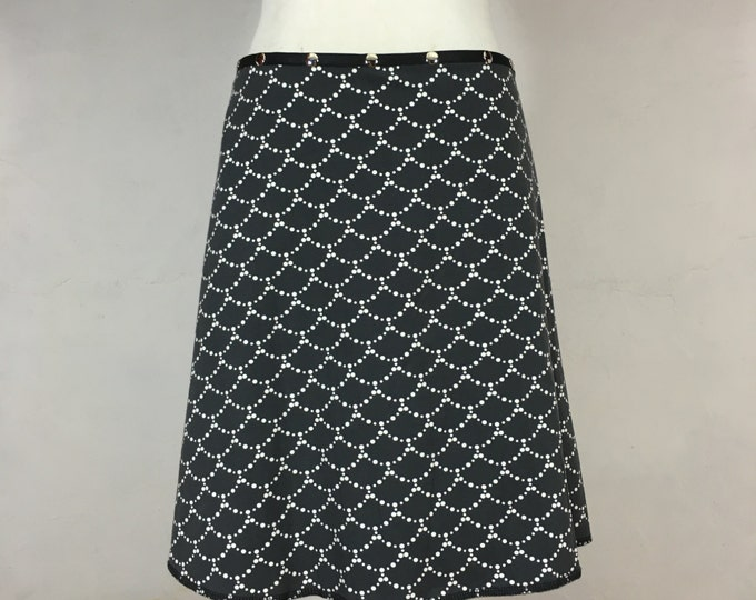 Snap Around Skirt, Scallop by Erin MacLeod