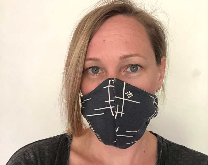Mask with Organic Navy