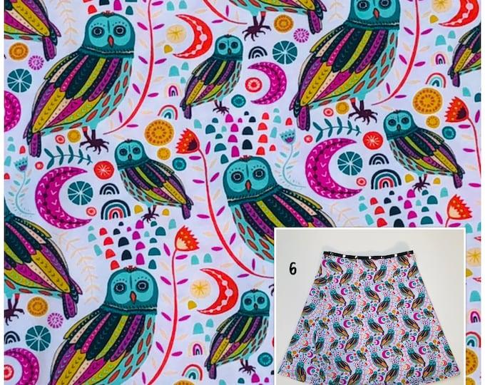 Playful Owl Skirt
