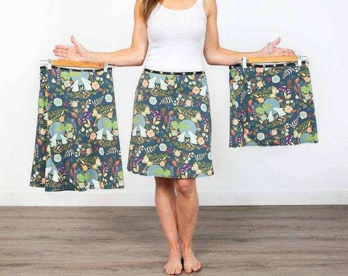 Skirt, Adjustable size, harvest moon, colorful skirt, Erin MacLeod, fall