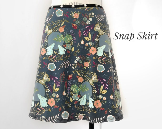 Skirt, Adjustable size, harvest moon, colorful skirt, Erin MacLeod, fall