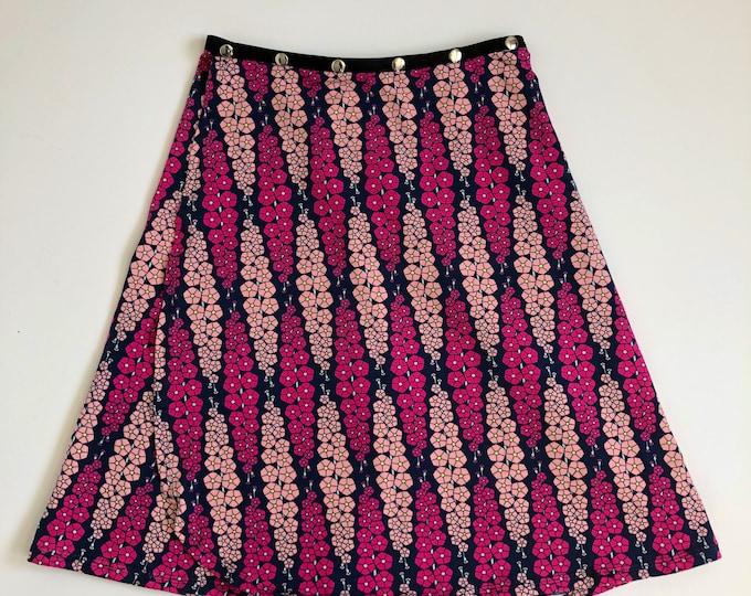 Yoga Skirt, Teacher Skirt, Travel Skirt, Summer Snap Wrap Skirt, Erin MacLeod FREE SHIPPING