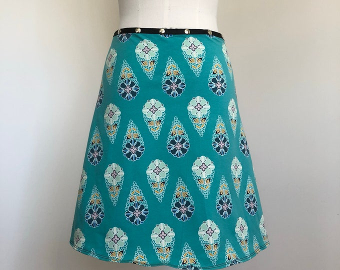 Snap Skirt, Spring Skirt, Erin MacLeod,