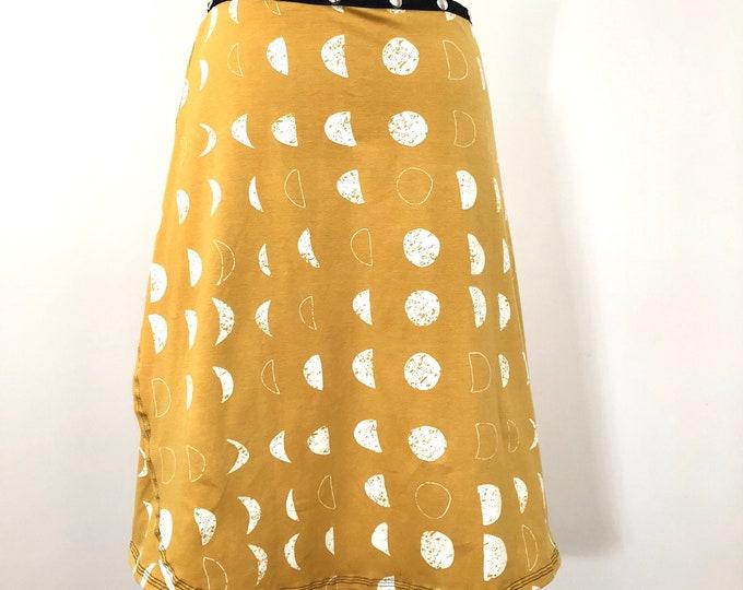 Skirt, Adjustable size, eclipse snap skirt, Erin MacLeod,