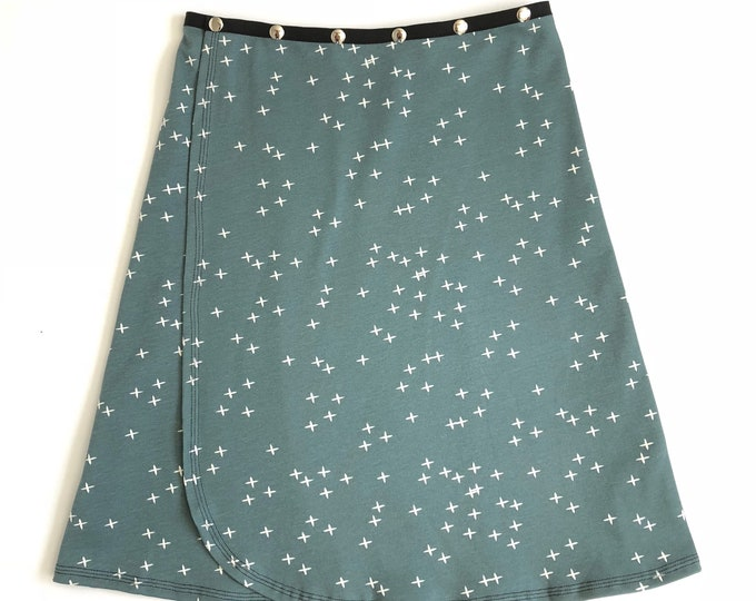Organic Star Snap Skirt by Erin MacLeod