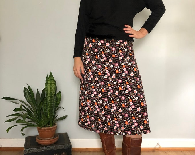 Night Garden Skirt by Erin MacLeod