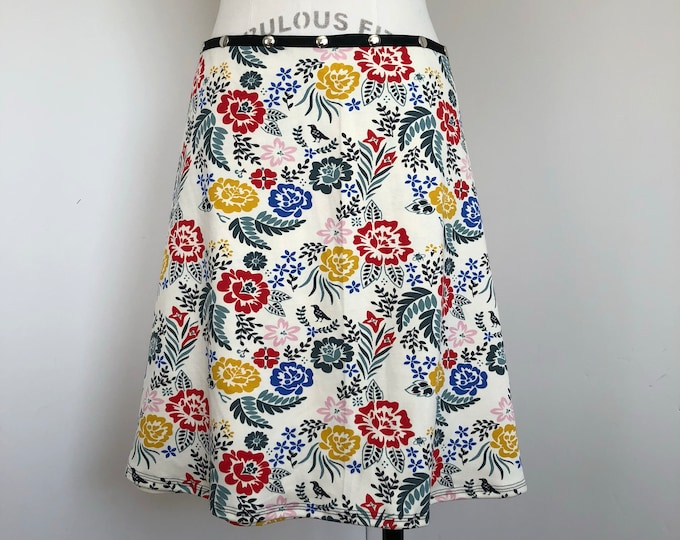 Organic Floral Skirt by Erin MacLeod