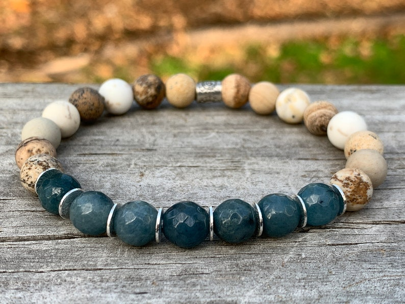 Beach Eco Bracelet  Inspired by Nature  Hill Tribe Silver  image 0