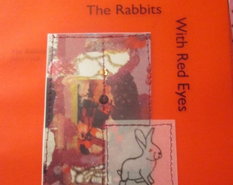 The Rabbits With Red Eyes by Juliet Cook - NEW poetry chapbook - Ethel Zine & Micro-Press - unsettling poetry