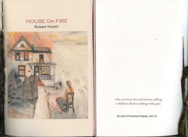 House On Fire by Susan Yount  2014 Blood Pudding Press image 0