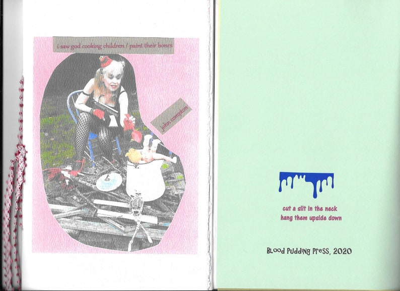 NEW i saw god cooking children / paint their bones by john image 0