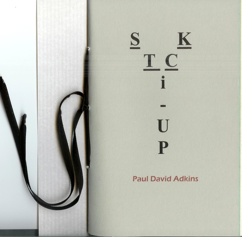 Stick Up by Paul David Adkins  2014 Blood Pudding Press image 0