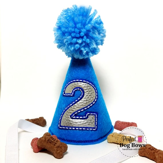 Dog Birthday Hat Boy Party Cake Smash Dogs