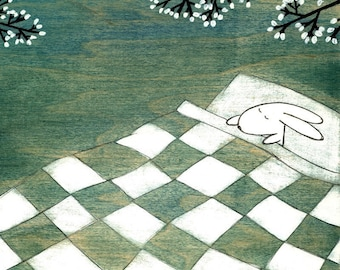 Napping Under Marshmallow Tree