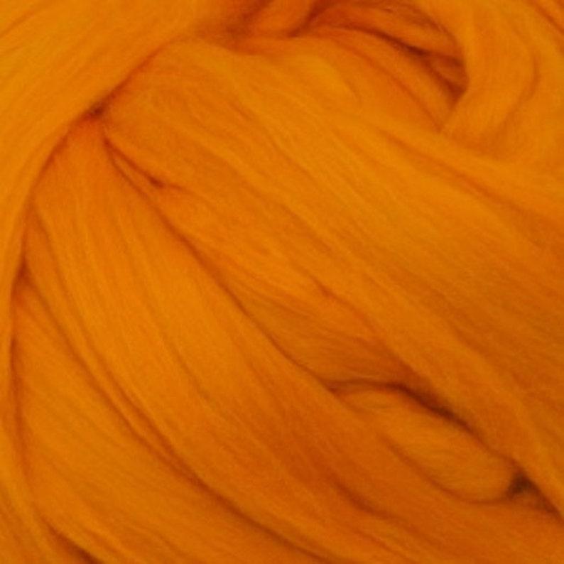 Merino Top Tangerine Ashland Bay One Pound