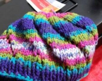 Child Swirl Hat Pattern