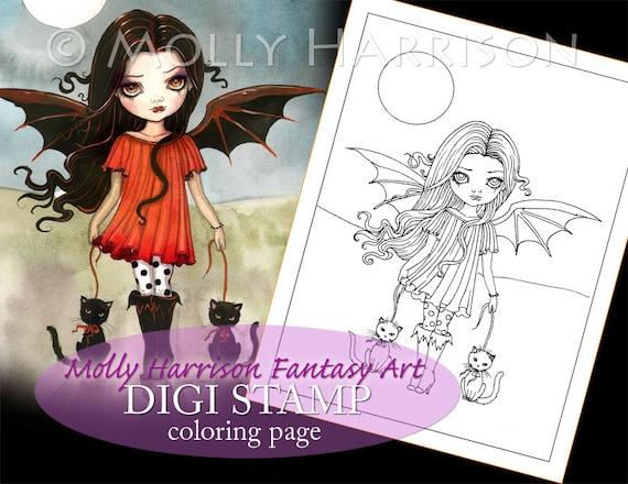 Vampire Child Fantasy Art