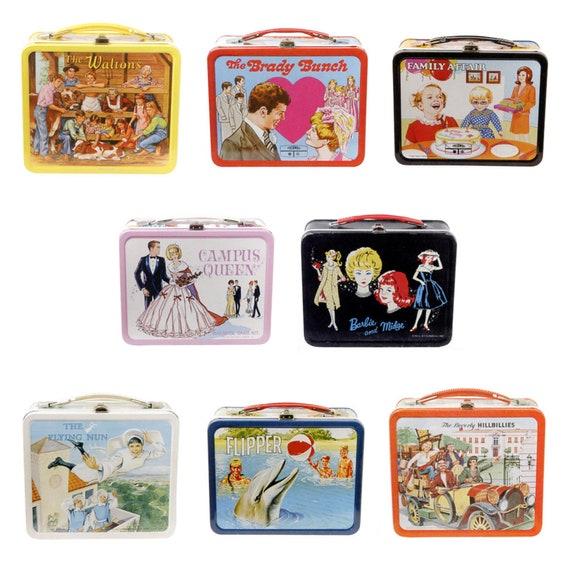 Retro Lunchbox MAGNET -Pick 1 Waltons, Brady Bunch, Family Affair, Campus  Queen, Barbie & Midge, Flying Nun, Flipper, Beverly Hillbillies TV