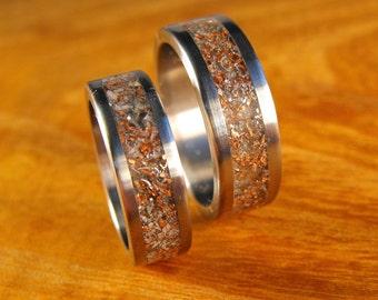 Titanium Wedding Sets