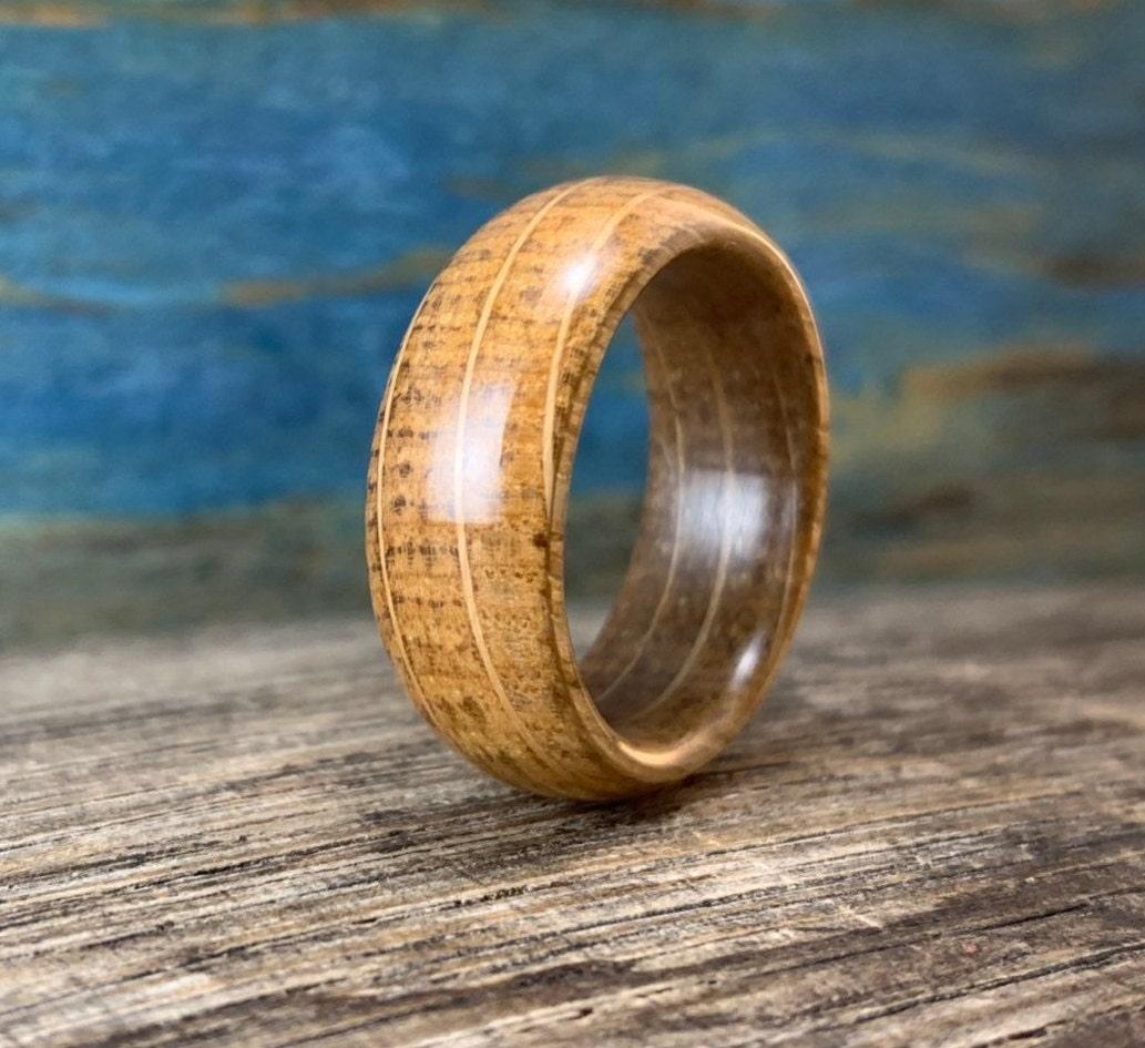 50: Wood Wedding Band Made At Websimilar.org