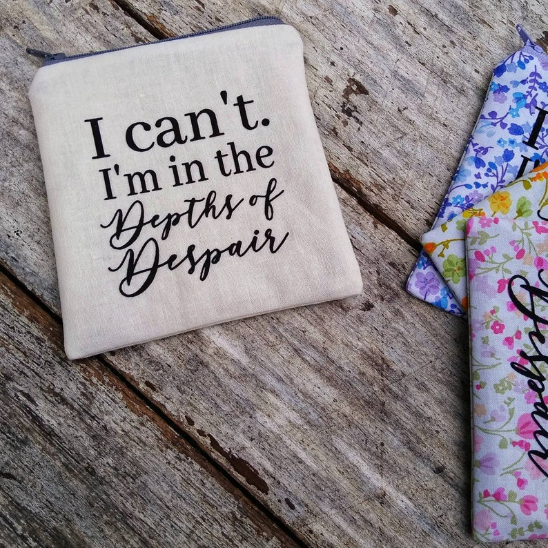 Depths of Despair pouch. Anne of Green Gables. Anne with an E. image 0