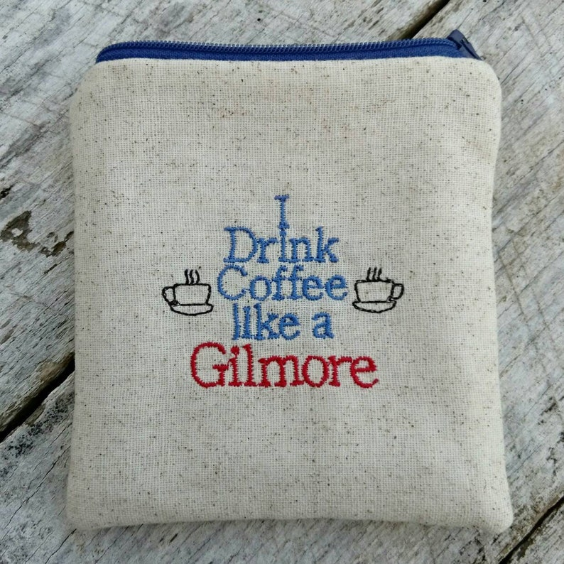 Gilmore girls pouches. I drink coffee like a Gilmore pouch. image 0