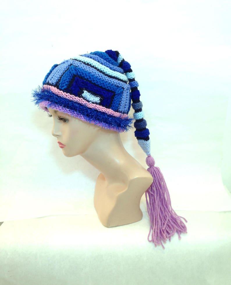 9a1fe47673b8d Unusual handknit hats for women unisex unusual crazy hat