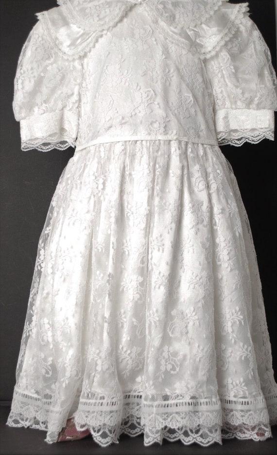 Girls Gunne Sax Jessica McClintock Dress-Vintage G