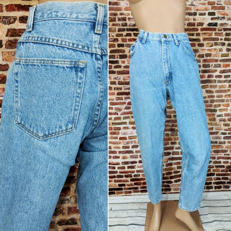 2c89a3d2 Vintage Mom Jeans Size 6 Small Medium Blue Wash Denim Blue   Etsy