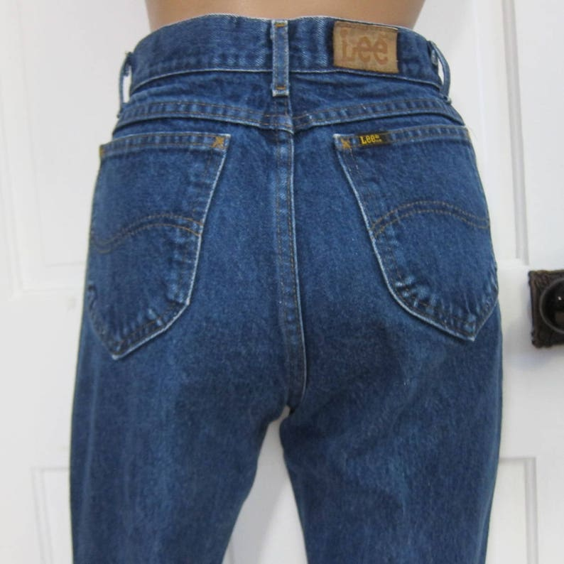 6cd995dd Vintage Lee Jeans S M Womens 28 Inch Waist Riders Straight | Etsy